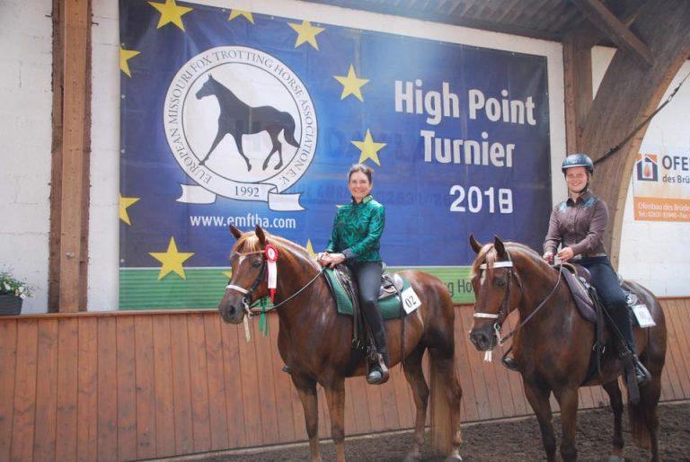 Spannende Ergebnisse des 1. Highpoint Turnieres 2018