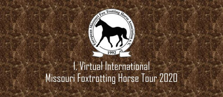 1st Virtual International Missouri Foxtrotting Horse Tour 2020