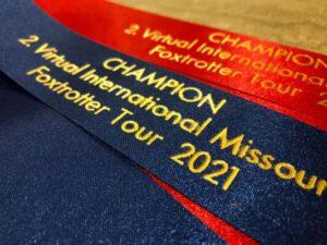 2nd virtual International Missouri Foxtrotting Horse Tour 2021